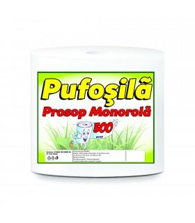 Prosop bucatarie din hartie Pufosila, monorola, 300 portii celuloza