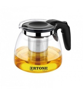 Ceainic din sticla cu filtru din inox, Ertone - MN151