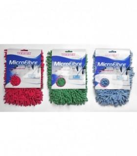 Rezerva mop plat microfibra, super absorbant 50X15cm