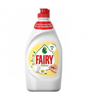 Detergent de vase Fairy Sensitive Chamomile&Vitamin E, 400ml