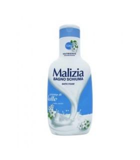 Gel de dus, MALIZIA, Latte, 1000ml