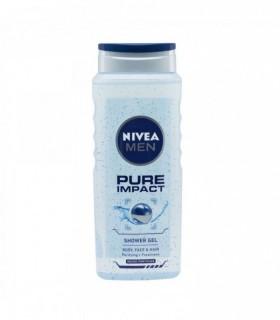 Gel de dus Nivea, Pure Impact, 500ml