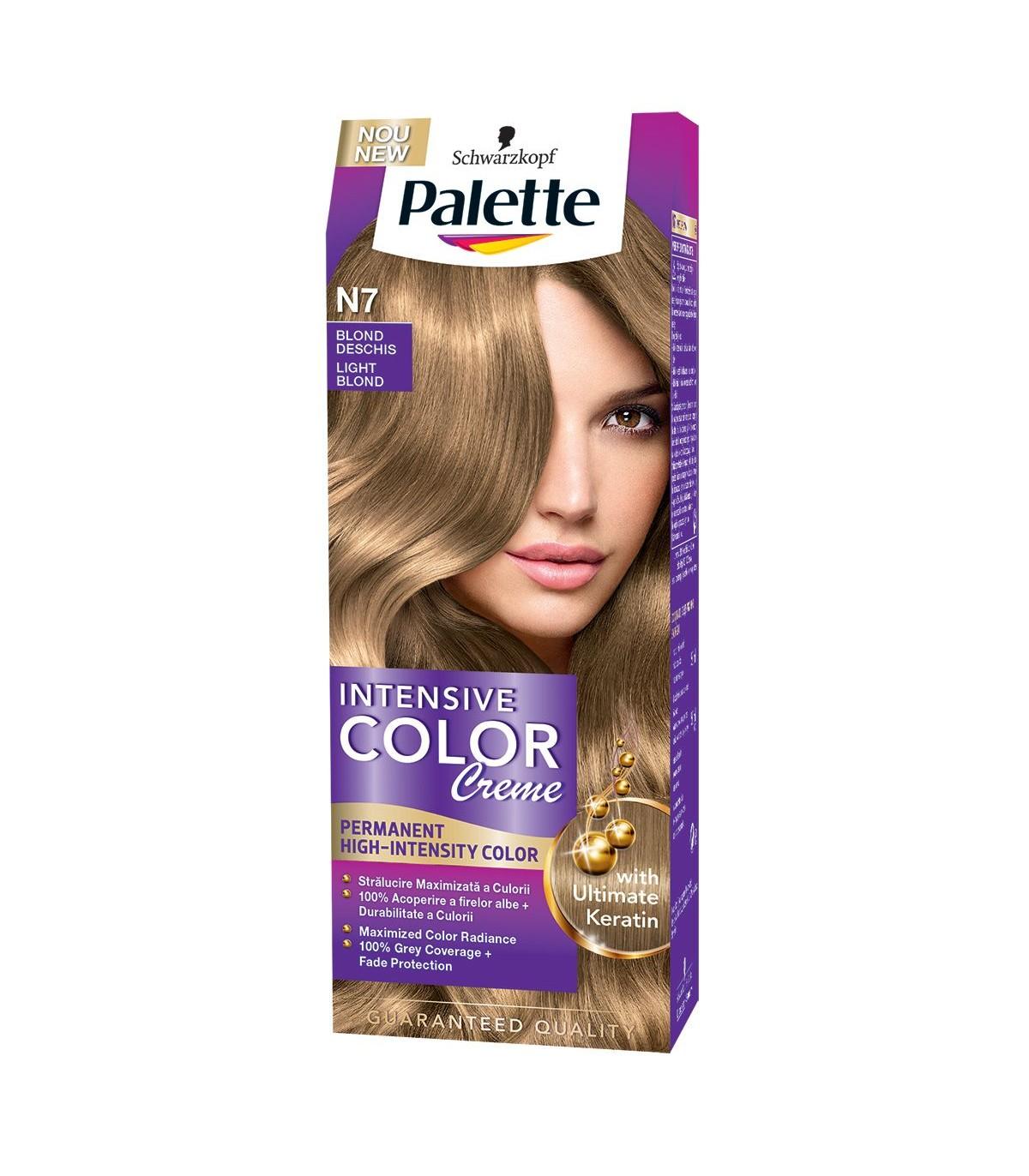 Vopsea De Par Palette Intensive Colour Creme 50 Ml N7 Light Blond
