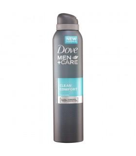 Deodorant Antiperspirant Spray 48h, Dove Men+Care, Clean Comfort, 150 ml