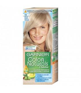 Vopsea de par Garnier Color Naturals, 111 Blond Super Deschis Cenusiu, 110 ml