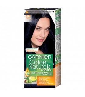 Vopsea de par Garnier Color Naturals, 2.10 Negru Albastrui, 110 ml