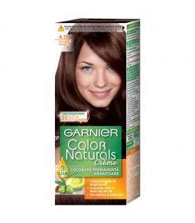 Vopsea de par Garnier Color Naturals, 4.15 Ciocolata Amaruie, 110 ml