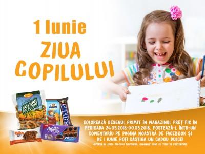 PREȚ FIX și Alka te cadorisesc de Ziua Copilului!