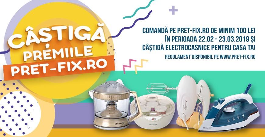 """REGULAMENT TOMBOLA """"Câștigă premiile pret-fix.ro"""""""