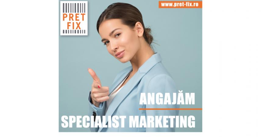 Hai în echipa noastră! Angajăm Specialist Marketing.