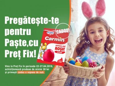 PRET FIX te ajută să te pregătești de Paște!